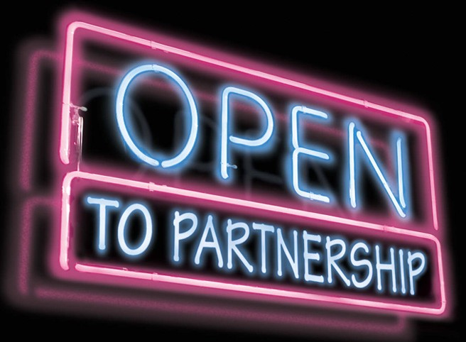 open-to-partnership
